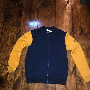 Adidas zip up jacket